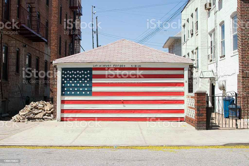 Patriotism royalty-free stock photo