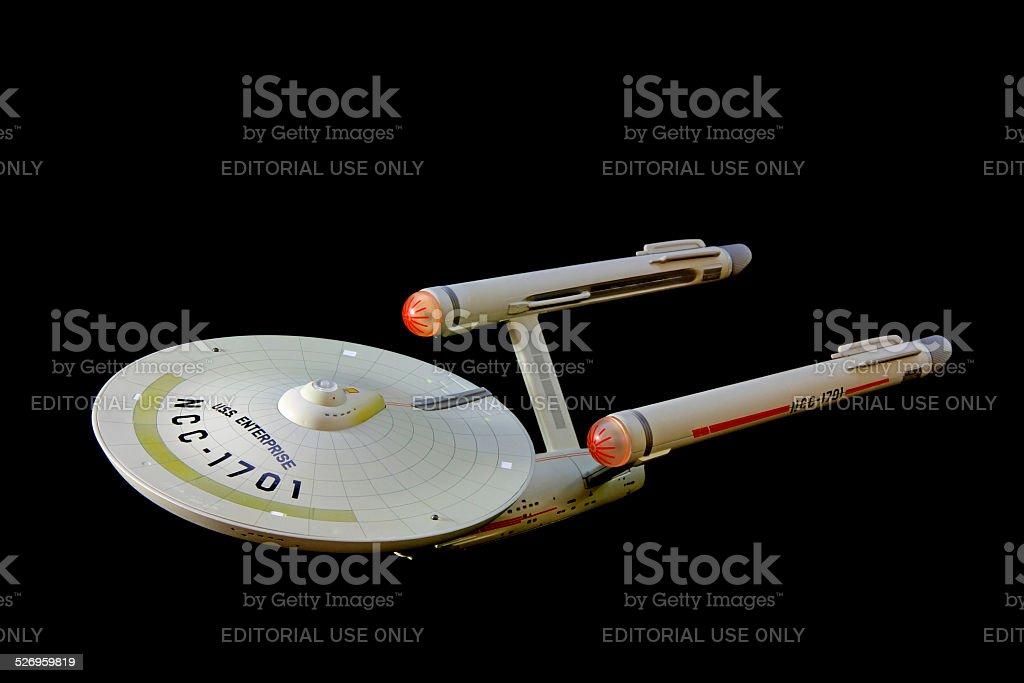 Patrolling Space stock photo
