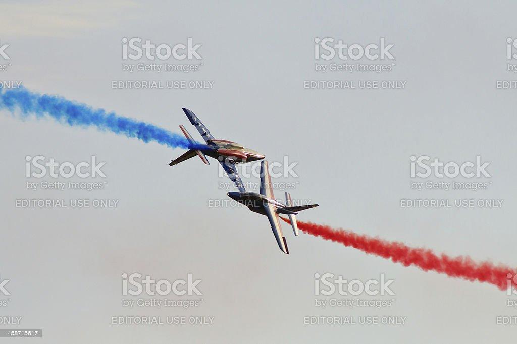 Patrouille de France royalty-free stock photo
