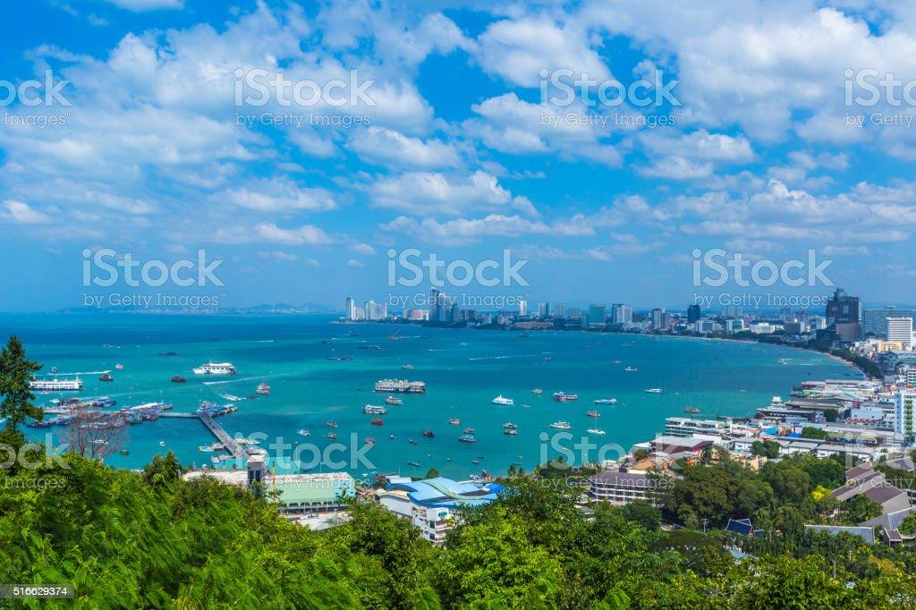 Pattay City stock photo