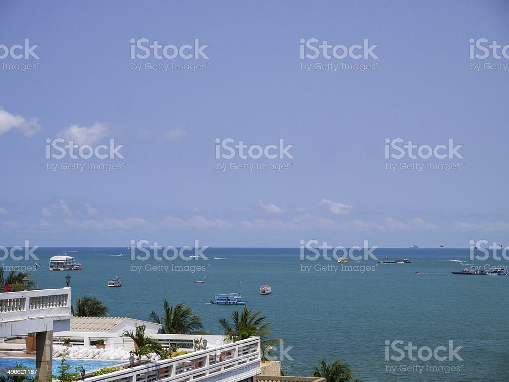 pattaya beach royalty-free stock photo