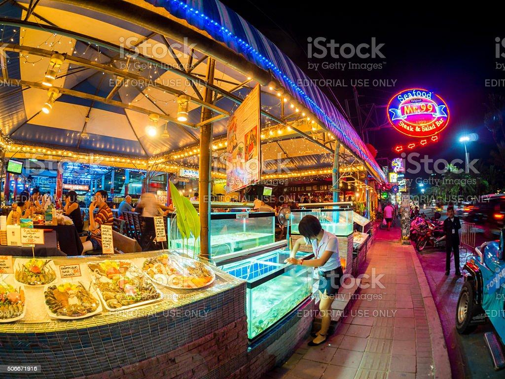 Pattaya Beach, Thailand stock photo