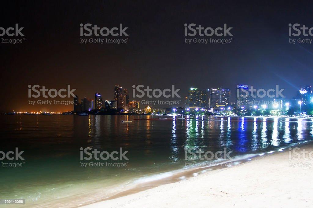 Pattaya city. stock photo