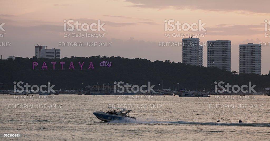 Pattaya City stock photo