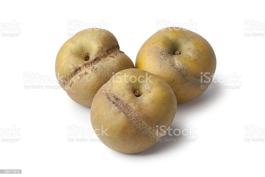Patte de loupe apples royalty-free stock photo