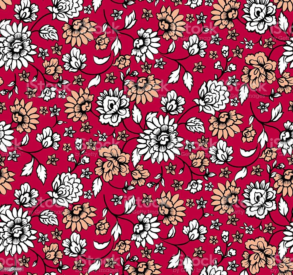 pattern flower stock photo