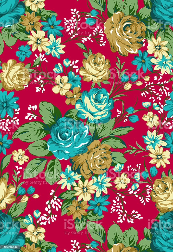 pattern flowers stock photo