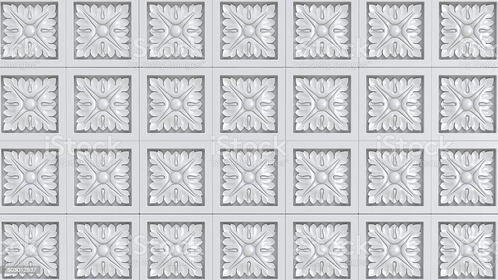 Pattern Fretwork background stock photo
