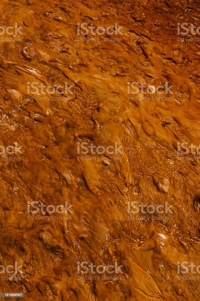 pattern from ouside of hotsprings royalty-free stock photo