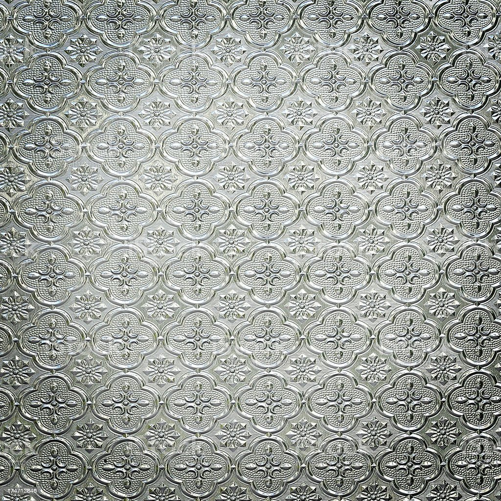 Pattern Glass in classic style royalty-free stock photo