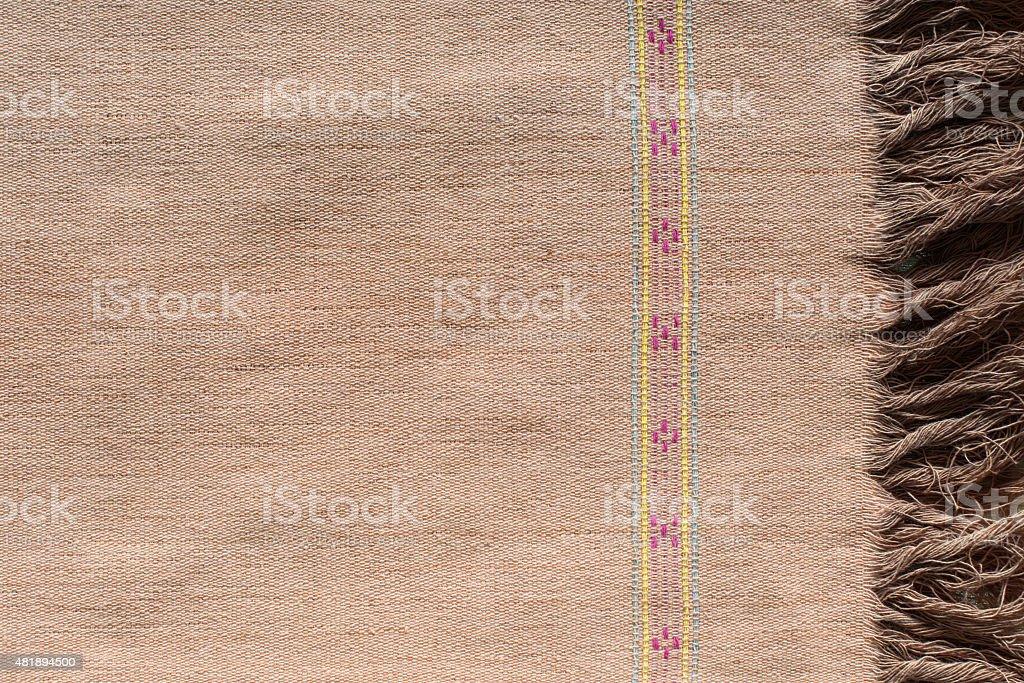 Pattern of cloth. handmade by Karen royalty-free stock photo