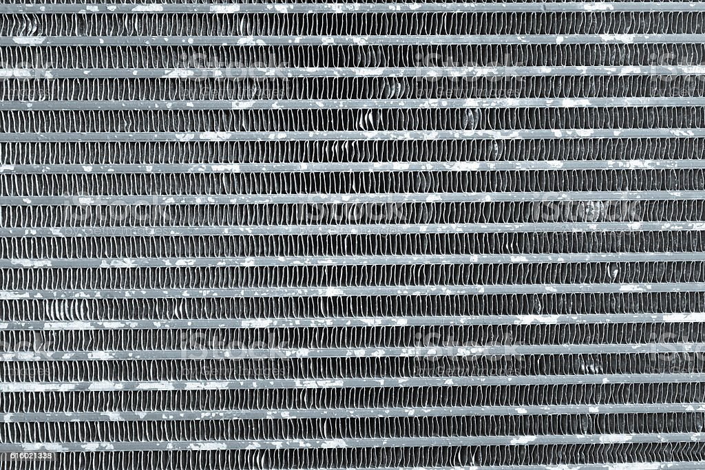 Pattern of cooling fan fins of engine or motor. texture stock photo