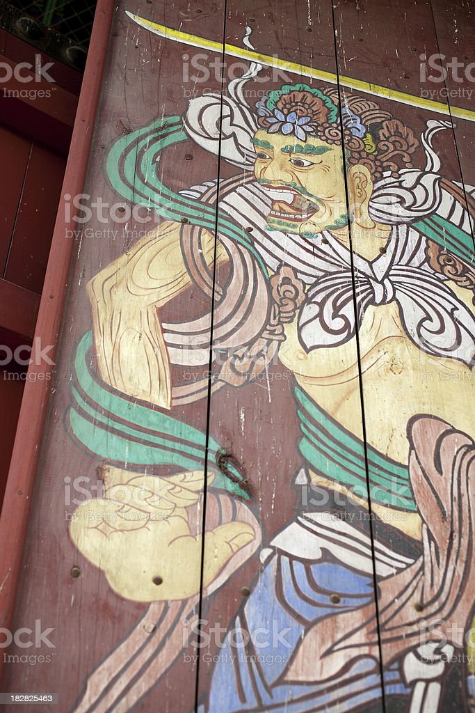 Pattern(Painting) of  Devas stock photo