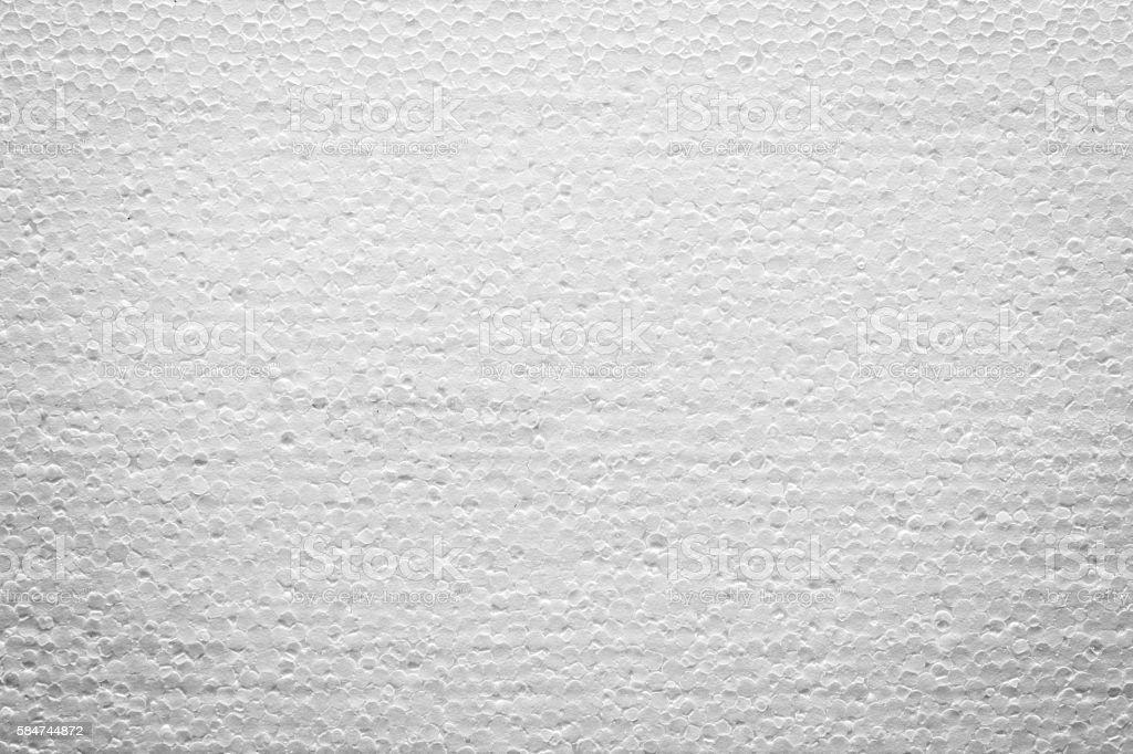 Pattern of foamed plastic stock photo