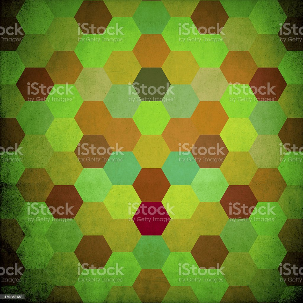 Pattern of geometric shapes or color background royalty-free stock photo