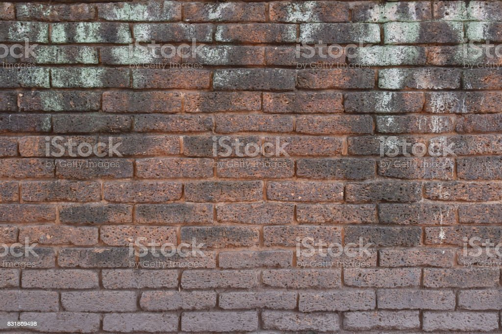 pattern of grunge brick wall background stock photo