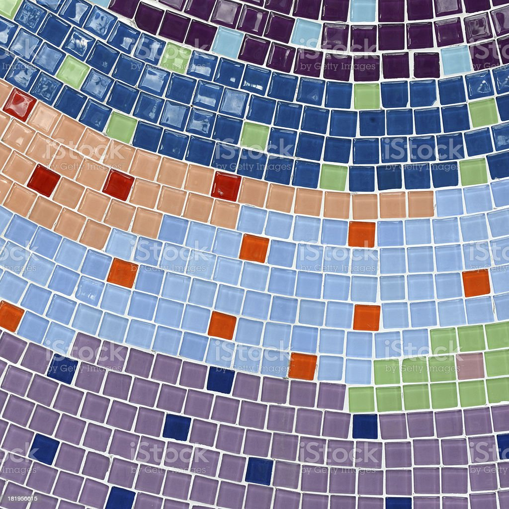 Pattern of mosaic background royalty-free stock photo