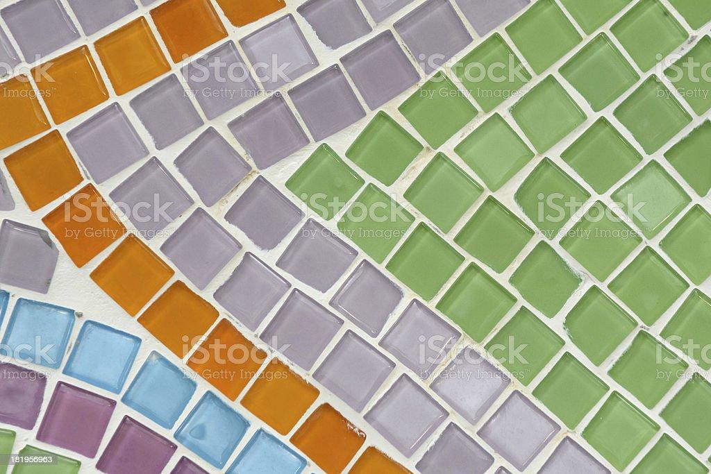 Pattern of mosaic background royalty-free stock photo