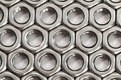 Pattern of nuts for the bolts