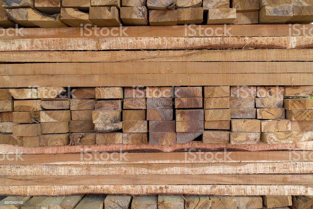 Motif de sciages bruts bois photo libre de droits