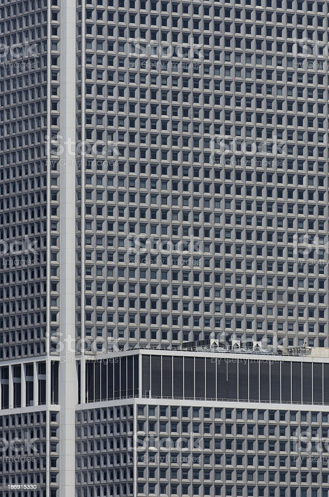 Pattern of Skyscraper Windows stock photo