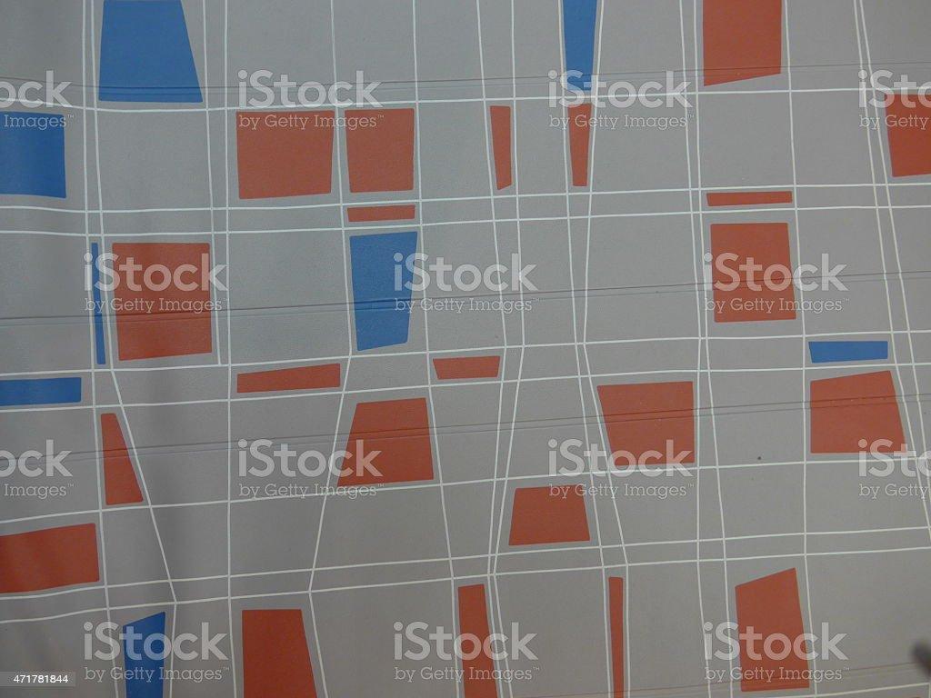 Patrón de los 50-Bild: foto de stock libre de derechos