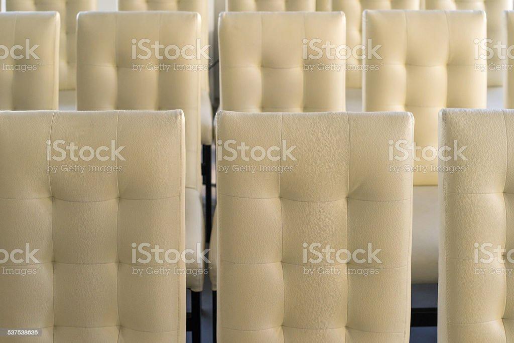 Motif de chaises rembourrées photo libre de droits