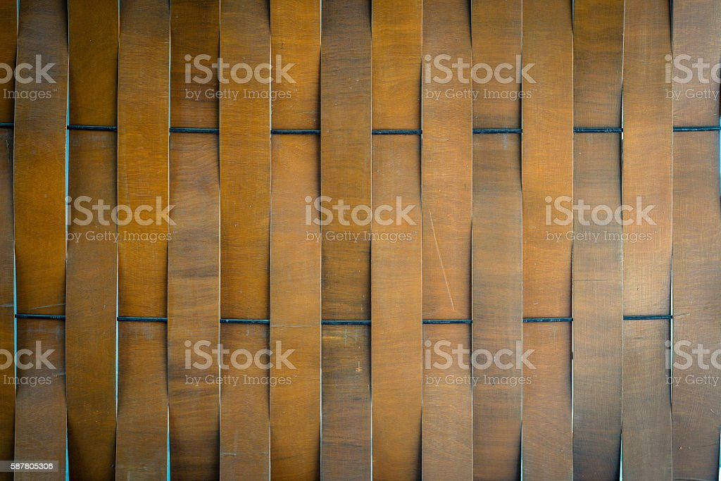 Pattern of wooden plank wall photo libre de droits
