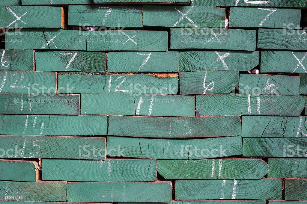 Pattern pile of wood royalty-free stock photo