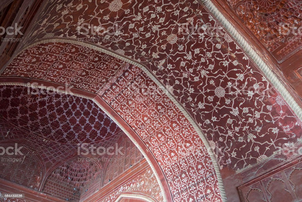 Patterned Ceiling stock photo