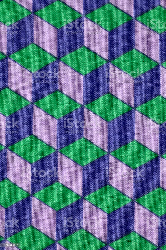patterned fabric stock photo