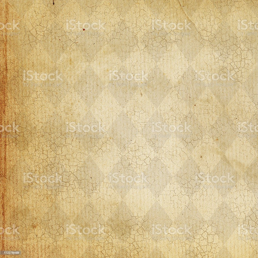 Patterned Paper Square stock photo