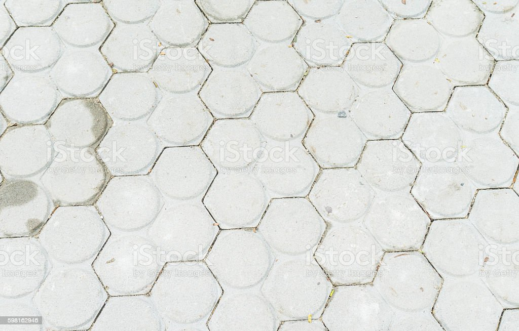 patterned  tiles floor background stock photo
