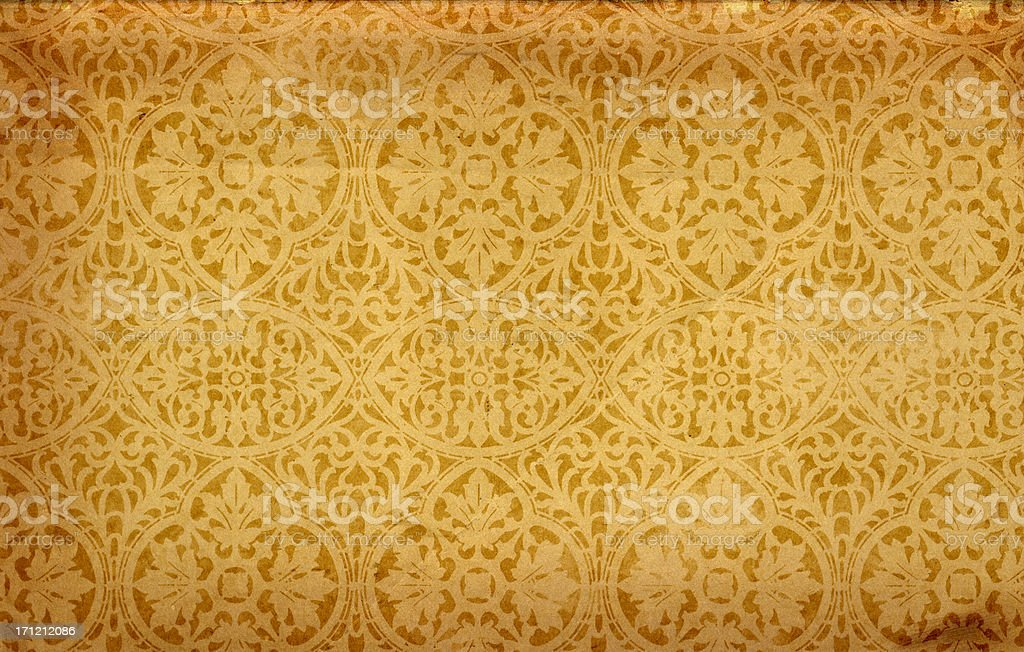 Patterned Vintage Paper royalty-free stock photo