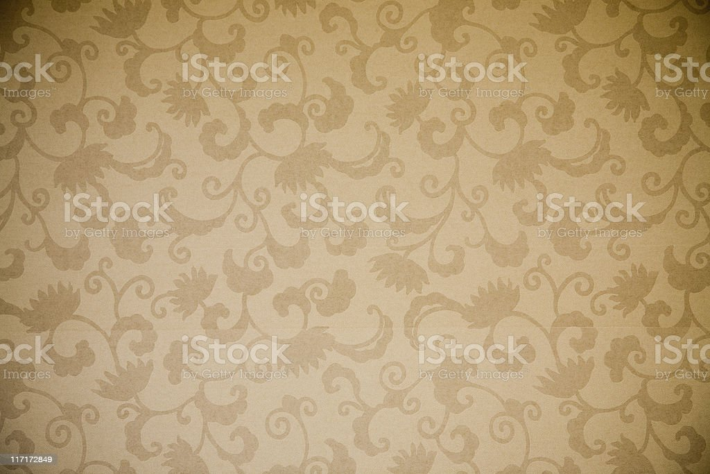 Patterned wallpaper royalty-free stock photo