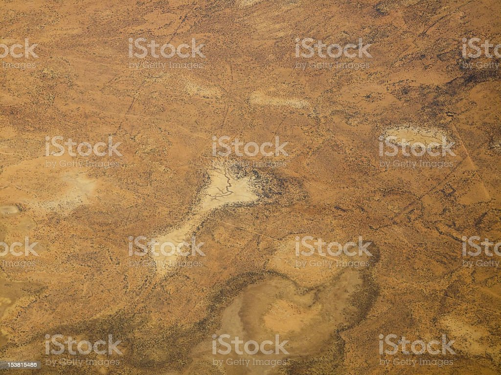 Patterns and Texures of the Desert  in Northern Australia stock photo