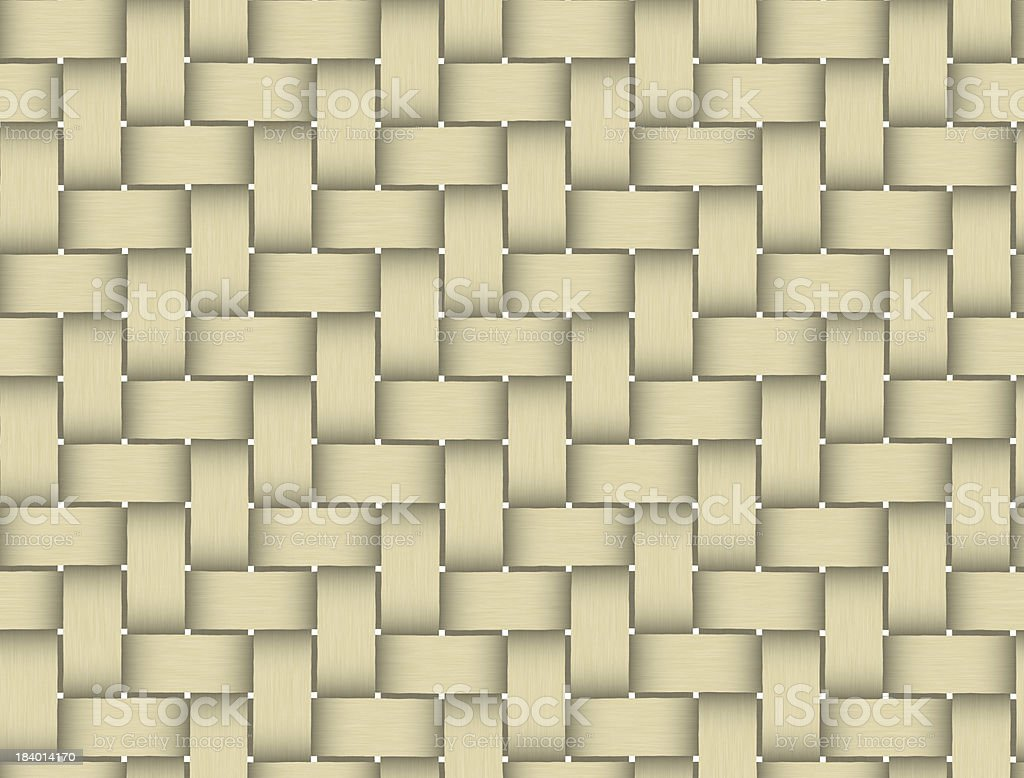Patterns of weave bamboo in asia royalty-free stock photo