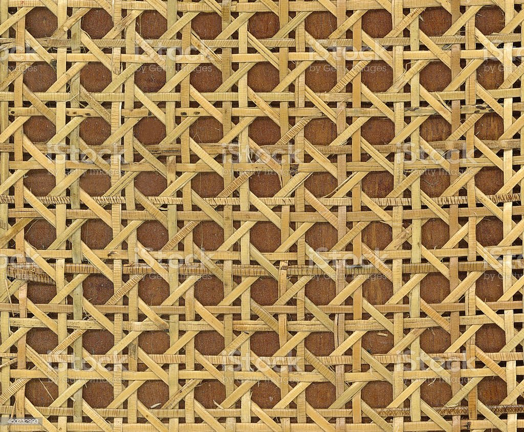 Patterns of weave bamboo in asia. royalty-free stock photo