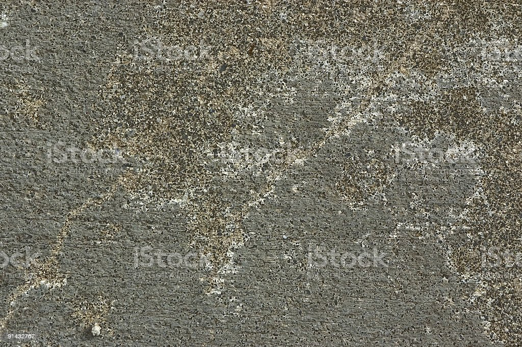 Patterns on Concrete royalty-free stock photo
