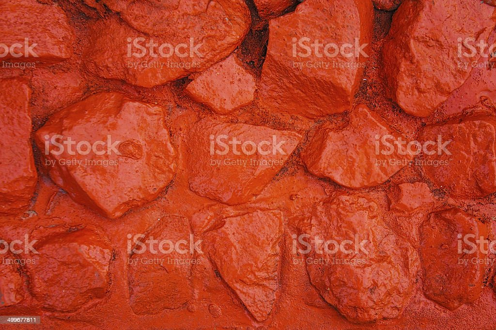 Patterns on the stone royalty-free stock photo