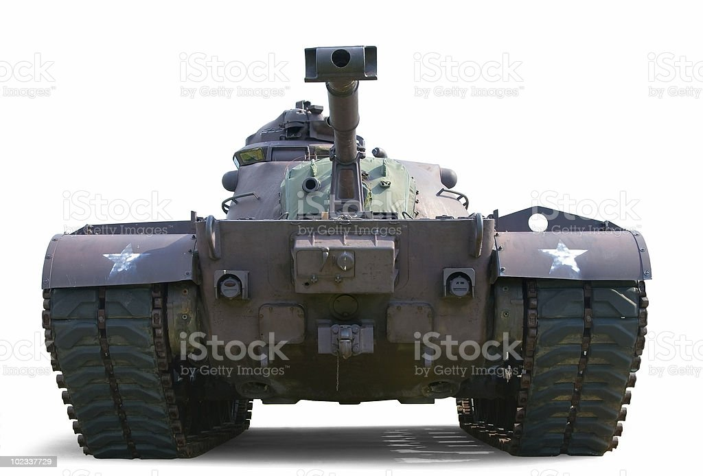 Patton M48 Tank stock photo