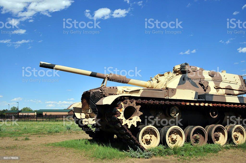 M60 Patton tank stock photo