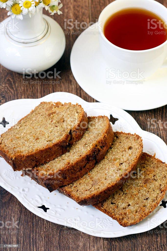 Pattypan cake with raisin royalty-free stock photo