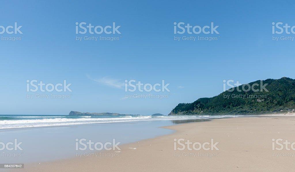 Pauanui Beach Coromandel New Zealand stock photo