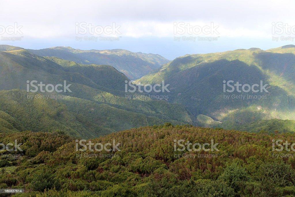 Paul da Serra 1500m Madeira royalty-free stock photo