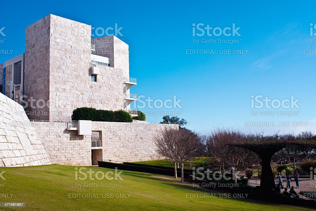 J. Paul Getty Museum royalty-free stock photo