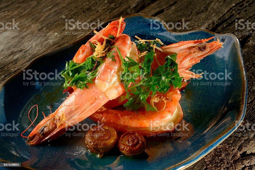 Paulista Shrimp stock photo