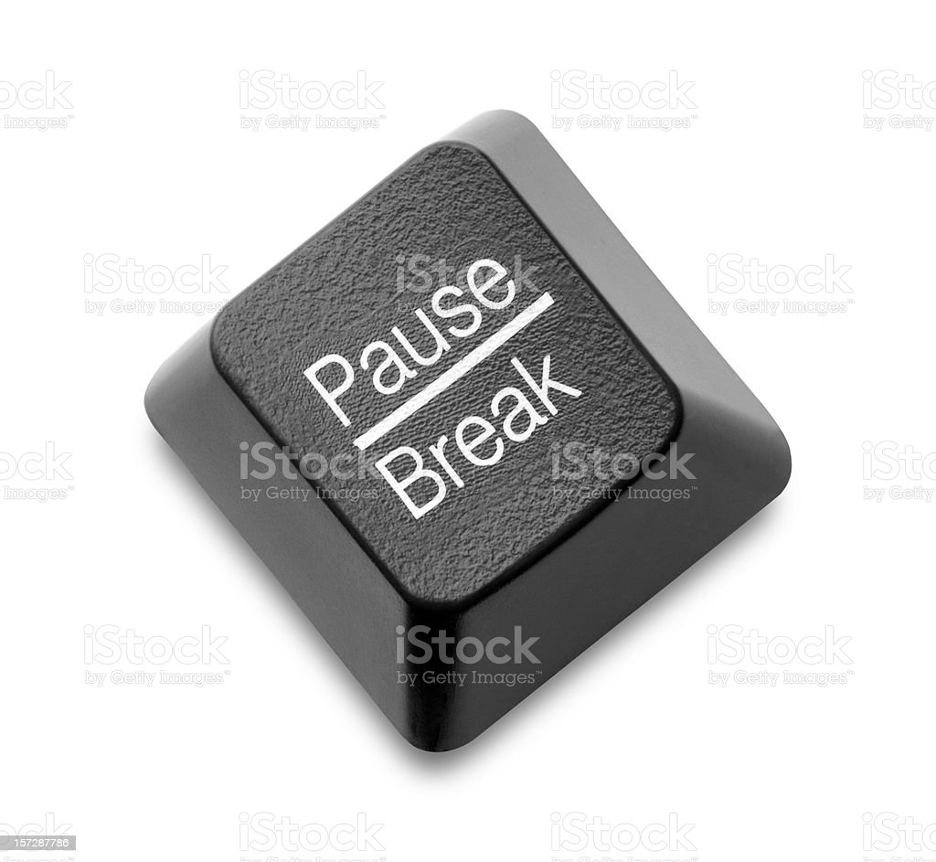 Pause - Break Key stock photo