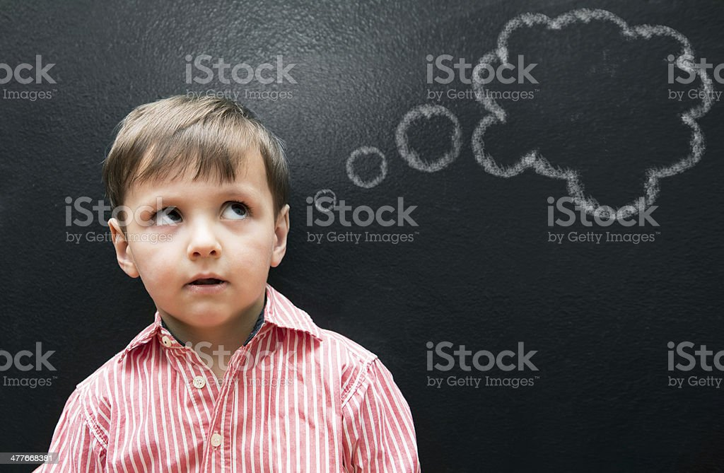 Pause for thought royalty-free stock photo