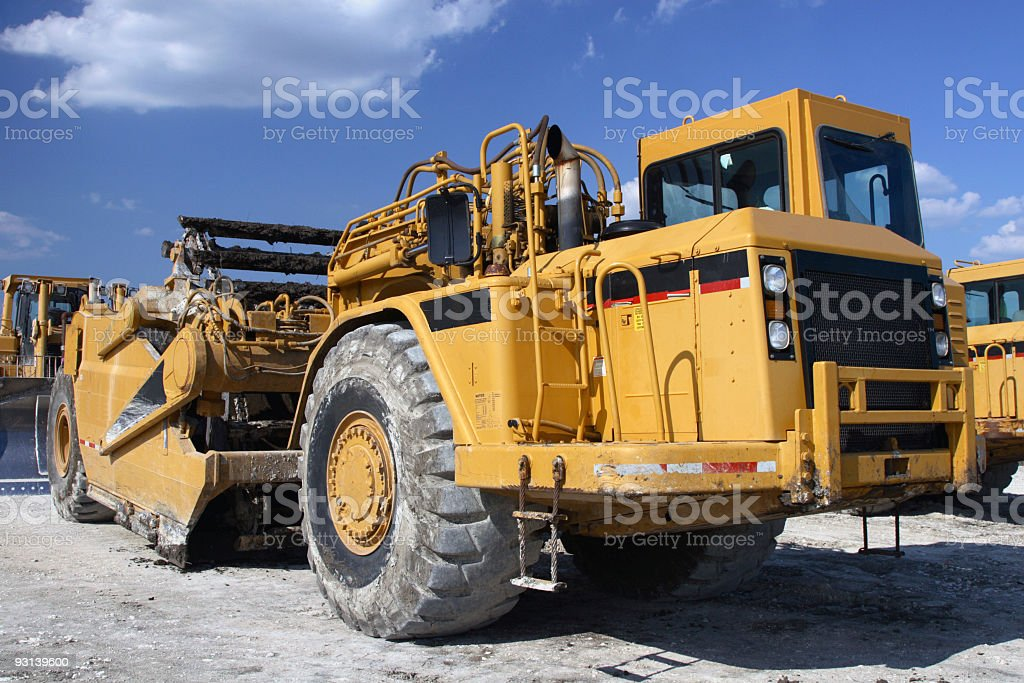 Pave machine stock photo